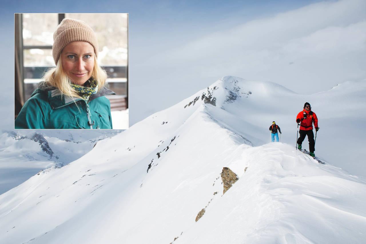 TOPPTURHELGA: Camilla Underland sier vi må ha tillit til at folk gjør gode valg. Foto: Tore Meirik / Kalle Hägglund