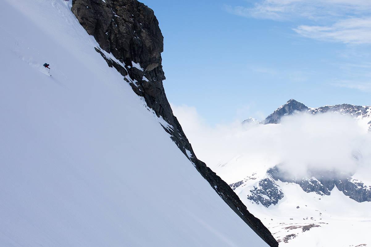 Valdresflya Jotunheimen topptur Munken Steinflytind Tjønnholstind