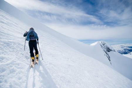 TOPPTUR: Nortind har nå kommet med råd for fjellferdsel og guiding på tur. Foto: Martin I. Dalen