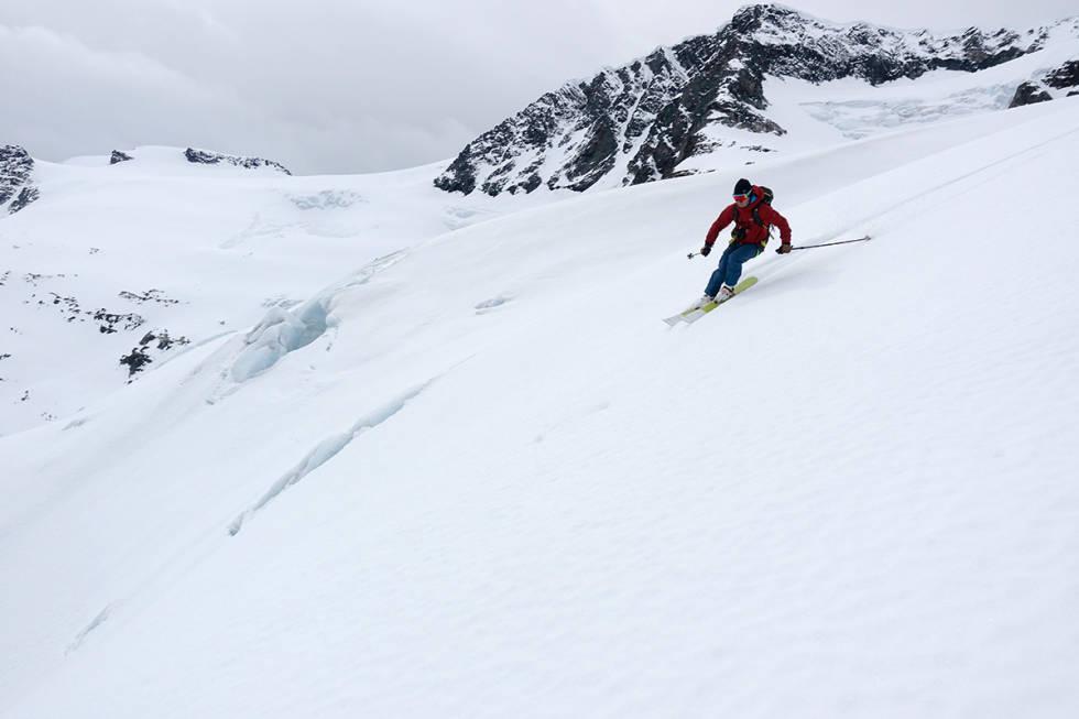 FINE FORHOLD: Sunndalsfjella er blant områdene som får fine skiforhold fremover. Her ser du Dronningkrona i bakgrunnen. Foto: Trygve Sande