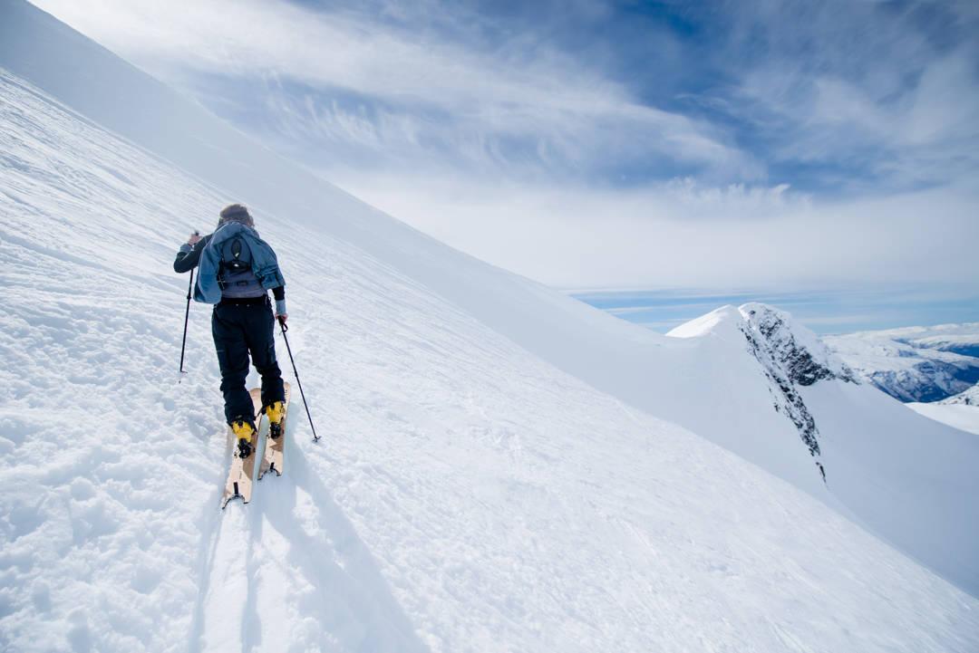 korona kommentar topptur ski