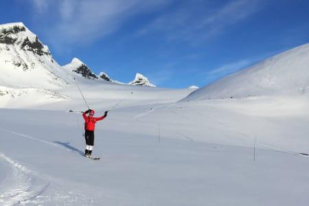 REKORD: Her går Fredheim og Manengen gikk inn til ny rekord. Foto: Privat