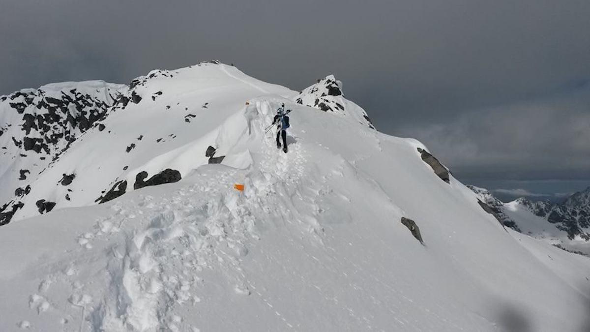SkittentindRando er i år også NM i randonee, og siste renn i Norgescupen. Foto: SkittentindRando
