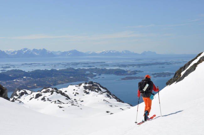 Sjekk skiforholdene i Lofoten nå!