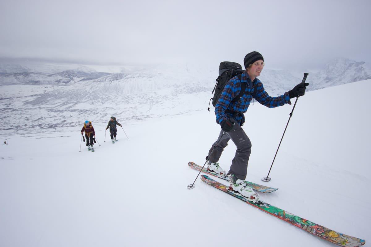 TOPPTURSTART: Øksendal fikk sin sesongstart i helga. Foto: Asgeir Rusti