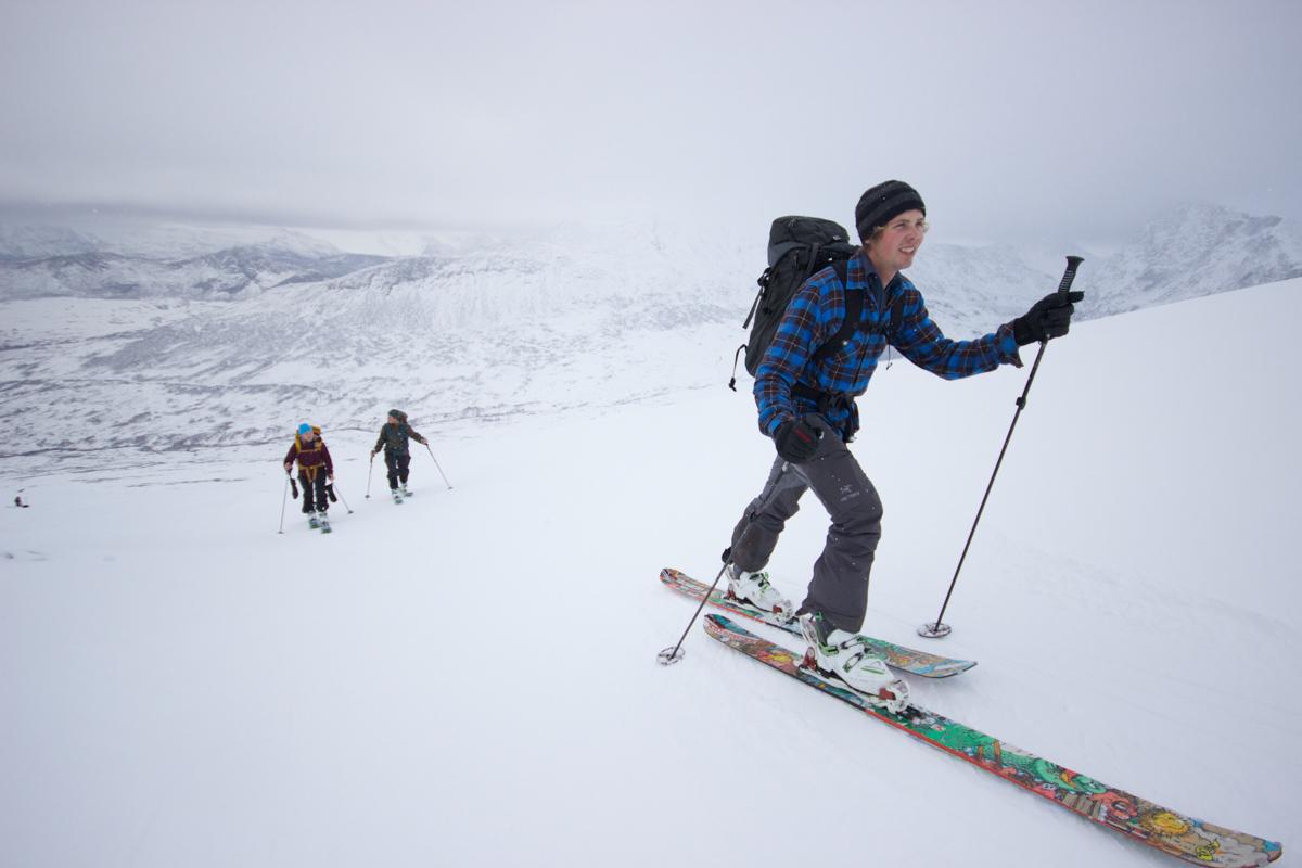 Nå er det gode skiforhold i Sunndalsfjella