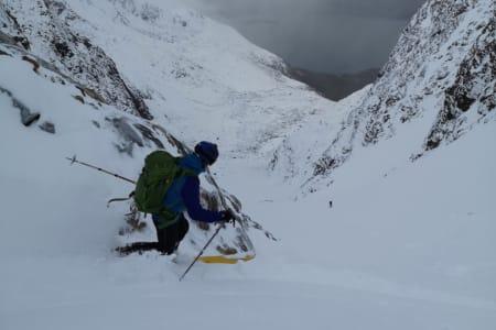 NYSNØ I TROMS: De nordlige delene av landet fikk bra med snø i høyden. Foto: Andreas Persson
