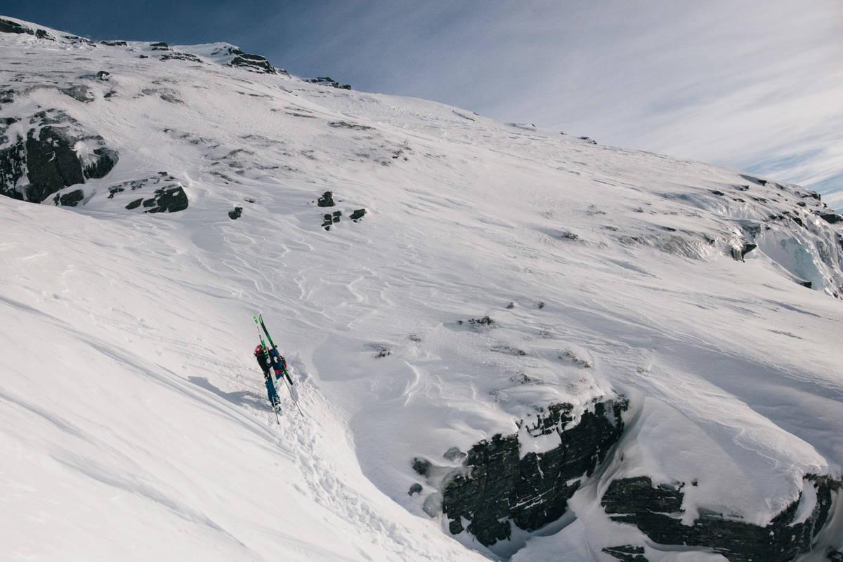 DOKUMENTARSERIE: Tor Berge skal vise frem den urørte delen av Norge. Foto: Tor Berge
