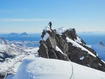 SPEKTAKULÆRT: Lofoten på sitt beste er rett og slett uslåelig. Foto: Timme Ellingjord