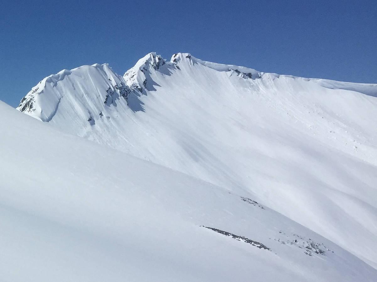 snøskred topptur