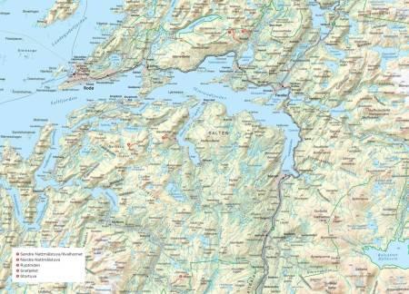 Bodø Reipå Børvasstindane Misfjorden Sandhornøya Småtindan Skjunkfjorden