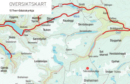 Kart for Breheimen