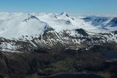 Breitinden Topptur Helgeland Norge