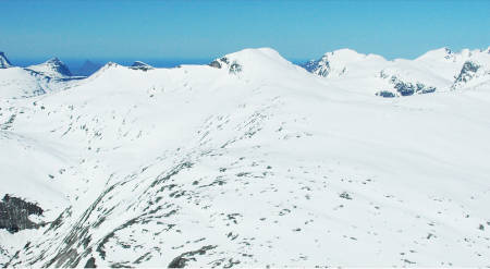Tortenviktinden Topptur Lofoten Norge/Toppturer i Norge