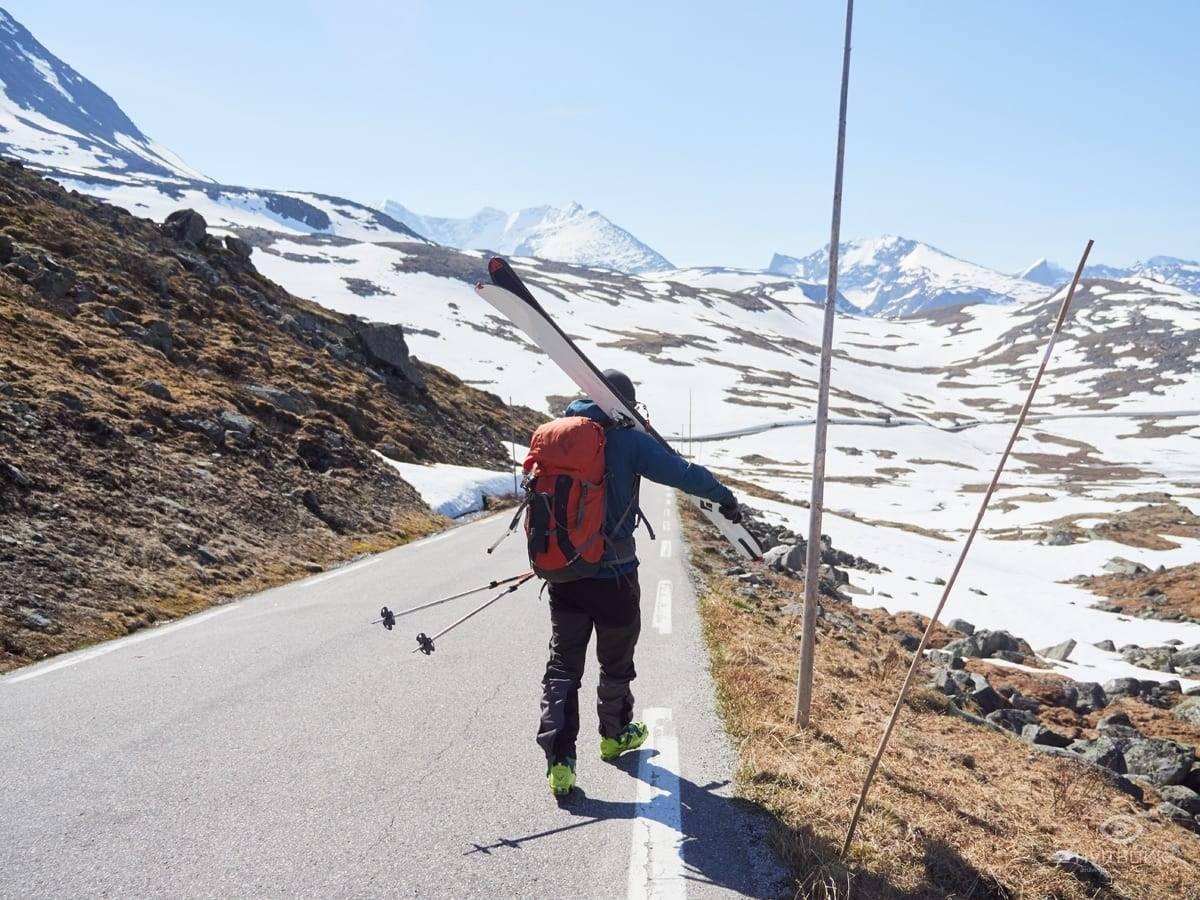 Sognefjellet topptur ski