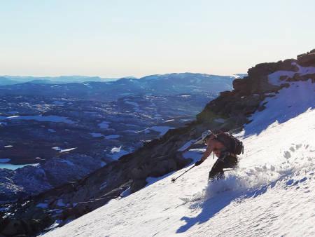 Koldedalen topptur ski