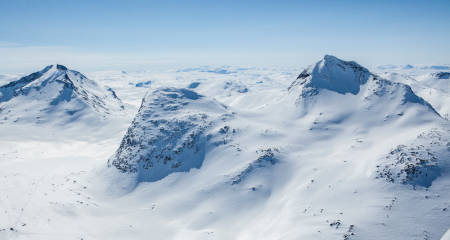 Mjølkedalstinden Topptur Jotunheimen