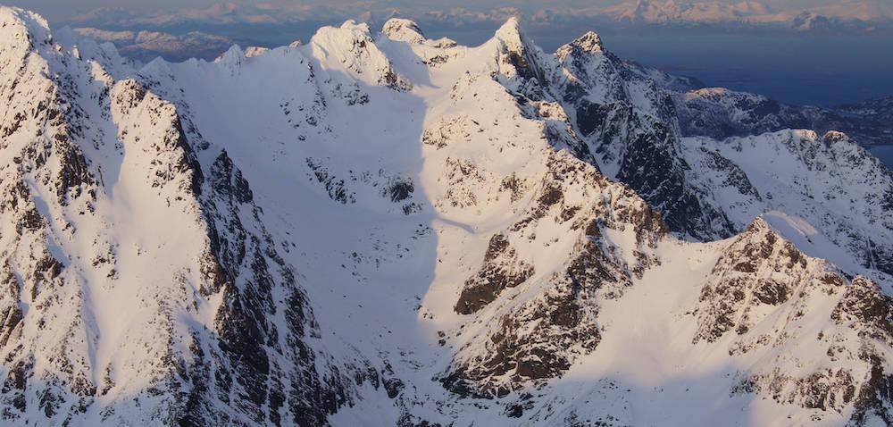 Geitgaljartinden Lofoten Topptur Norge