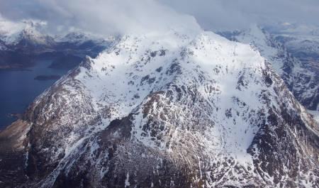 Himmeltind Lofoten Topptur Norge