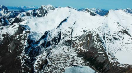 Småtindan Lofoten Norge Topptur