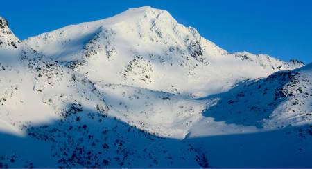 Stornappstinden Topptur Lofoten Norge