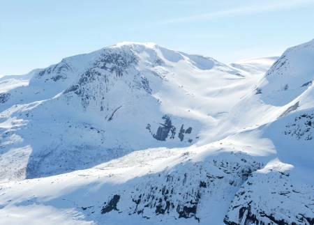 Kobbenestinden fra nord. Foto: Rune Dahl / Toppturer rundt Narvik