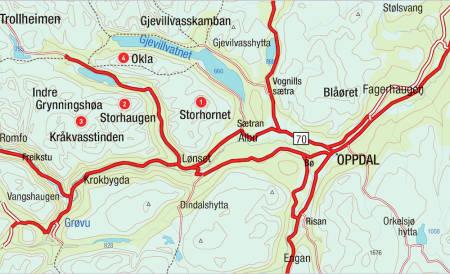 Oppdal Topptur Norge