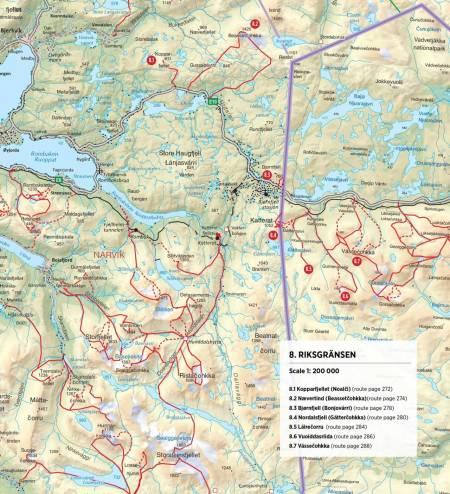 riksgränsen abisko Björkliden bjørkliden