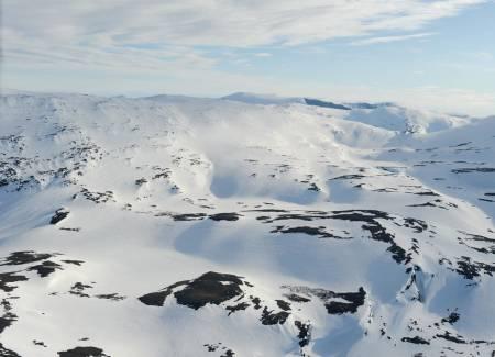 Bajip Gohpačohkka fra nord. Foto: Rune Dahl / Toppturer rundt Narvik.
