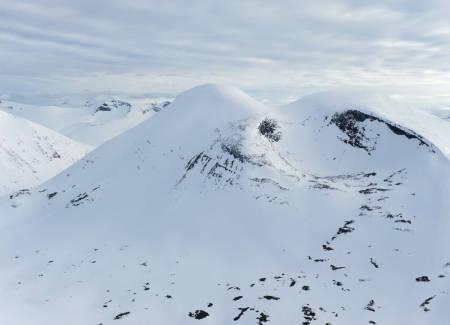 Tjåmuhas fra nordøst. Foto: Rune Dahl / Toppturer rundt Narvik.