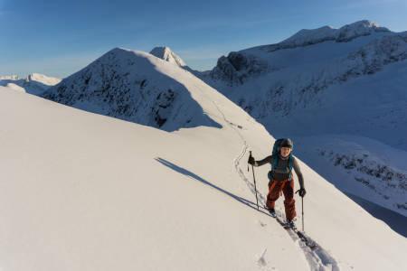 Lisen Strøm topptur Romsdalen
