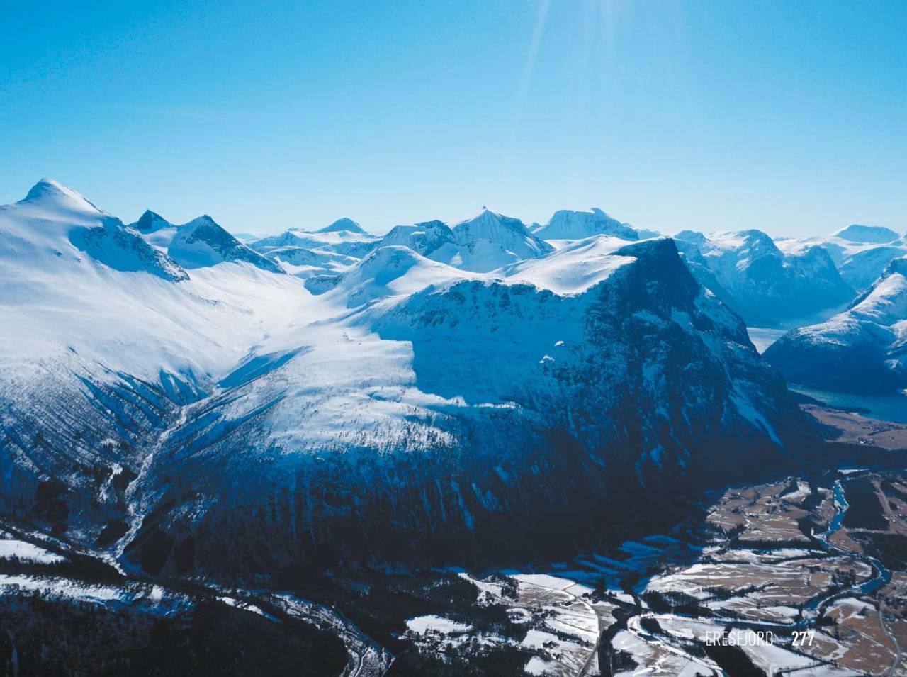 Goksøyra 1315 moh fra Toppturer i Romsdalen