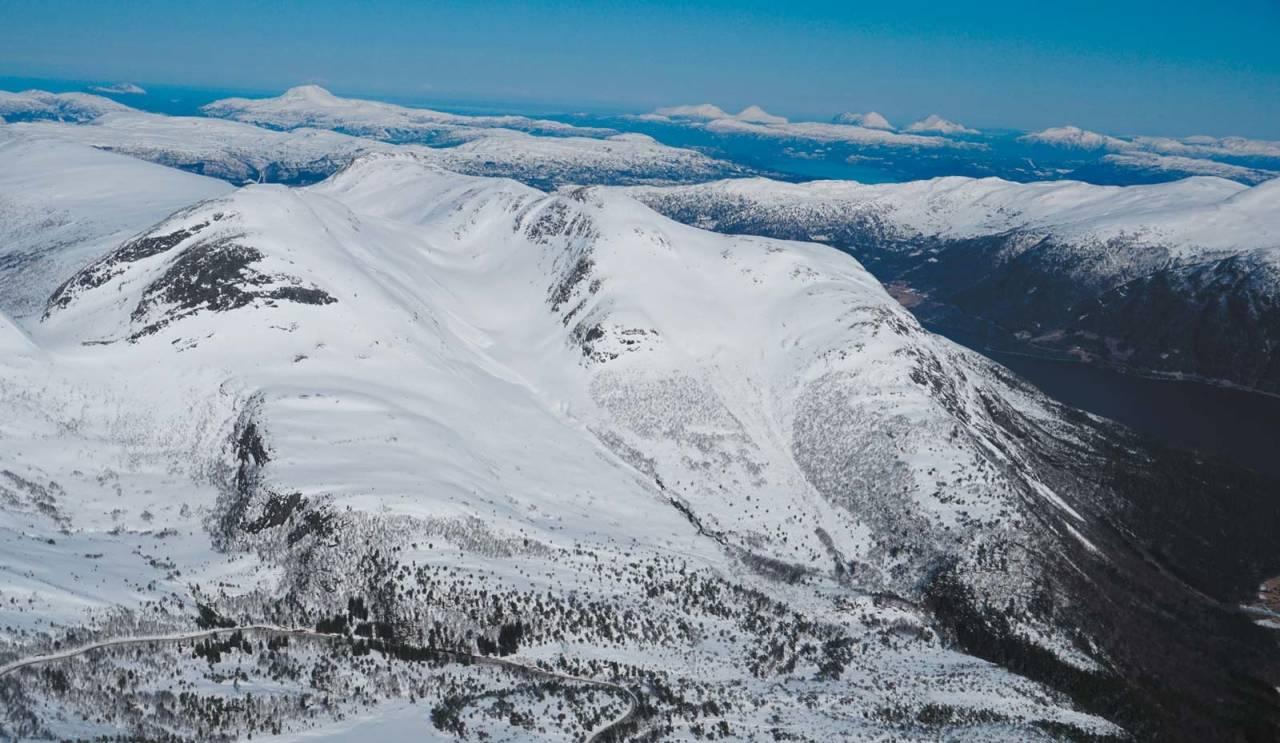 Jamtetind 1101 moh fra Toppturer i Romsdalen