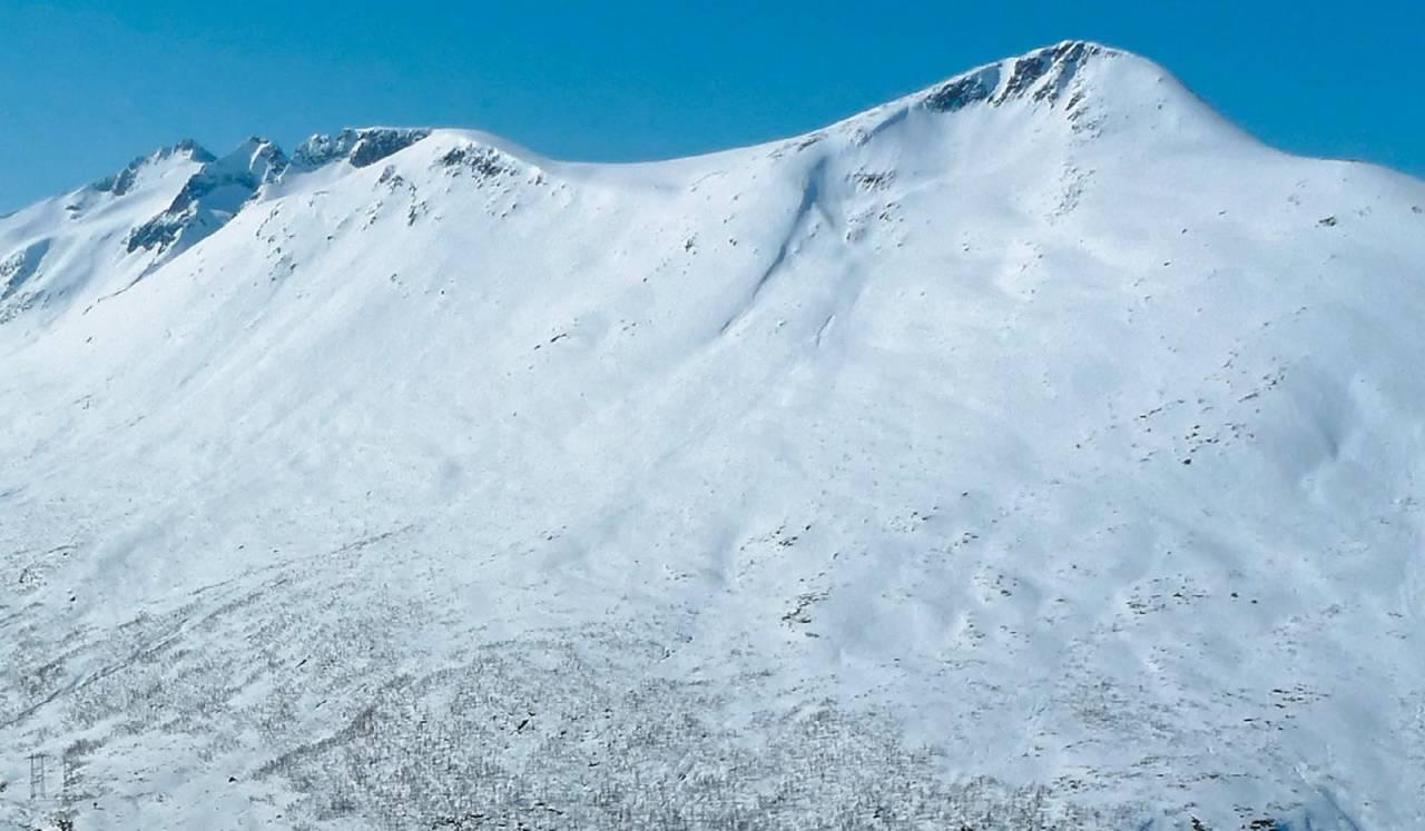 Kalvgjeltinden 1279 moh fra Toppturer i Romsdalen