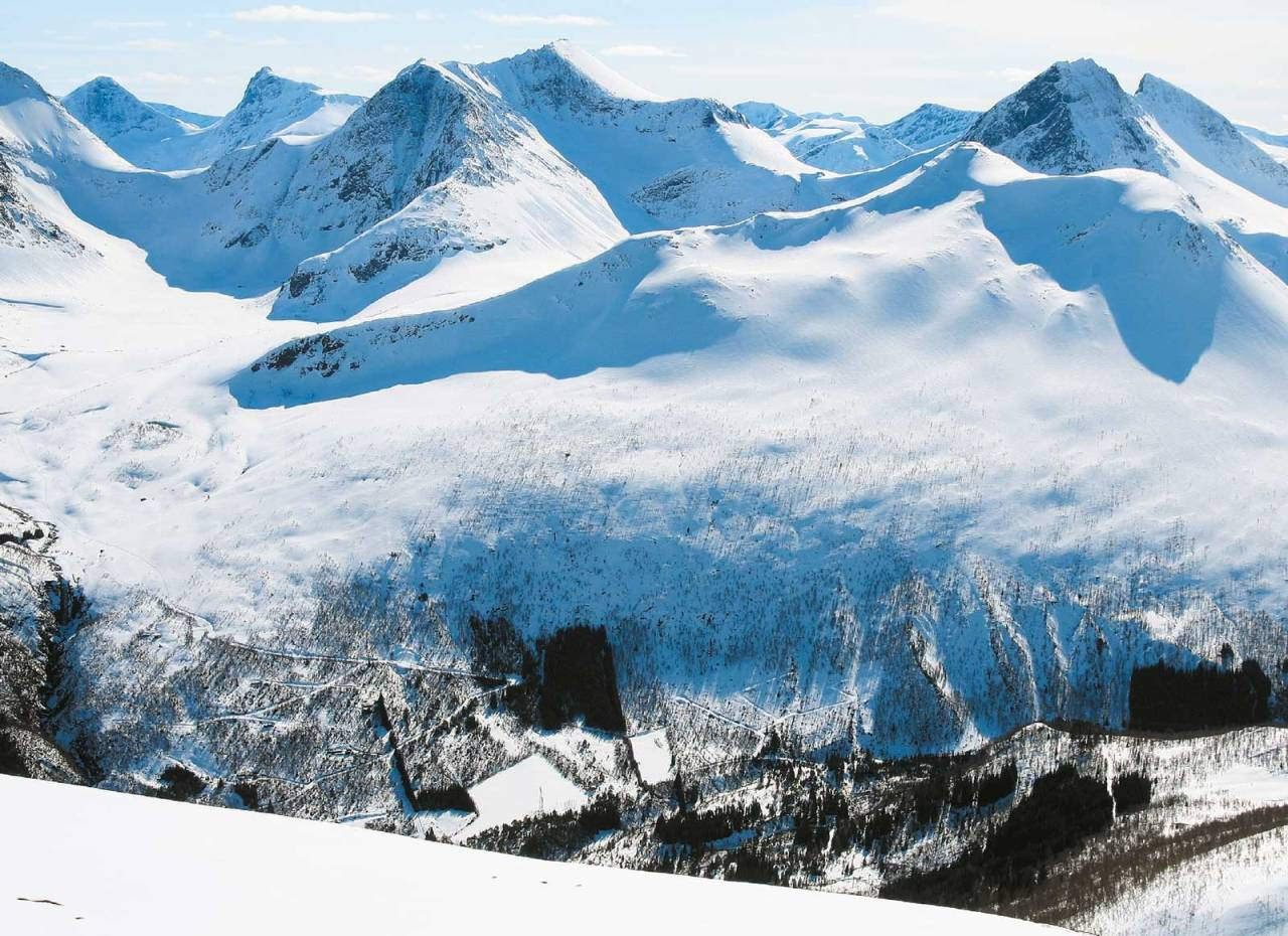 Kjøsen 1117 moh fra Toppturer i Romsdalen