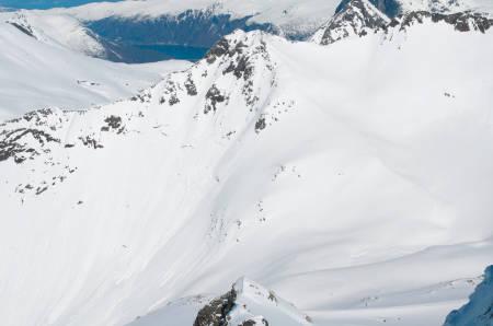 Nyheitinden Vesttoppen 1508 moh fra Toppturer i Romsdalen