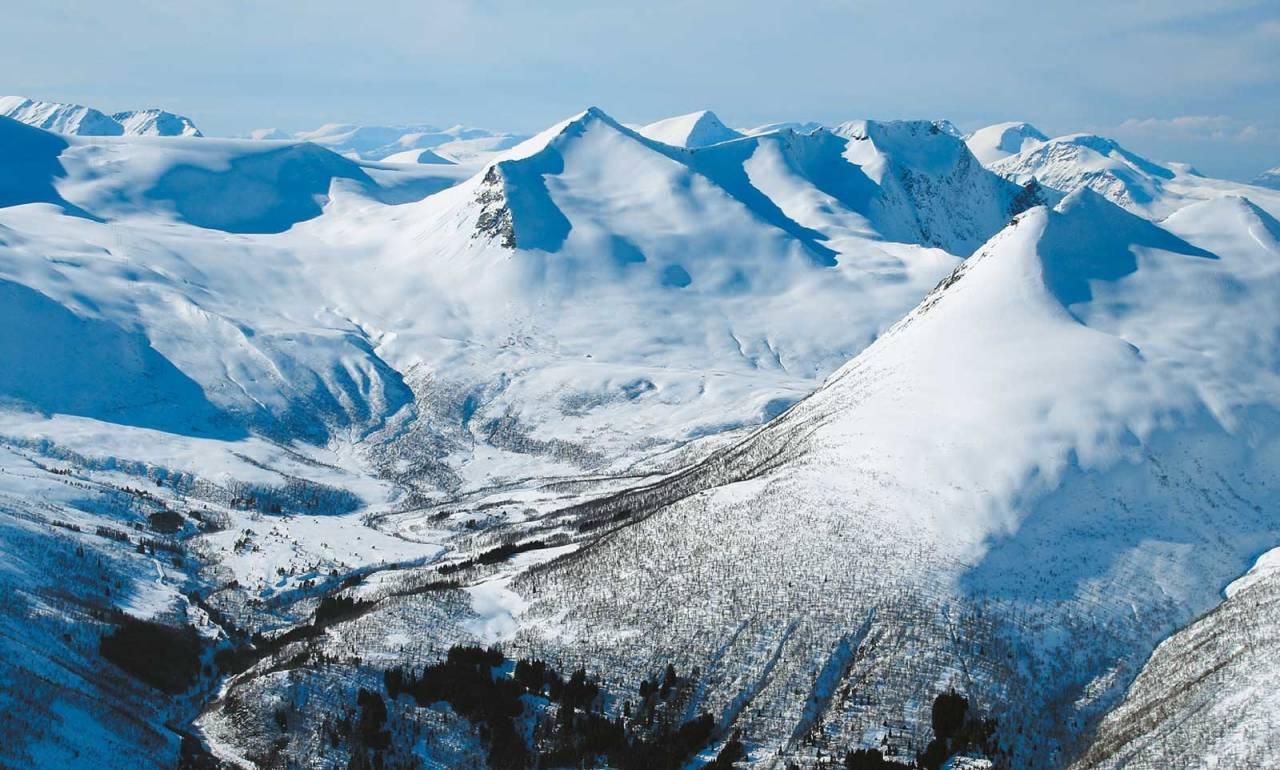 Øspetinden 1228 moh fra Toppturer i Romsdalen