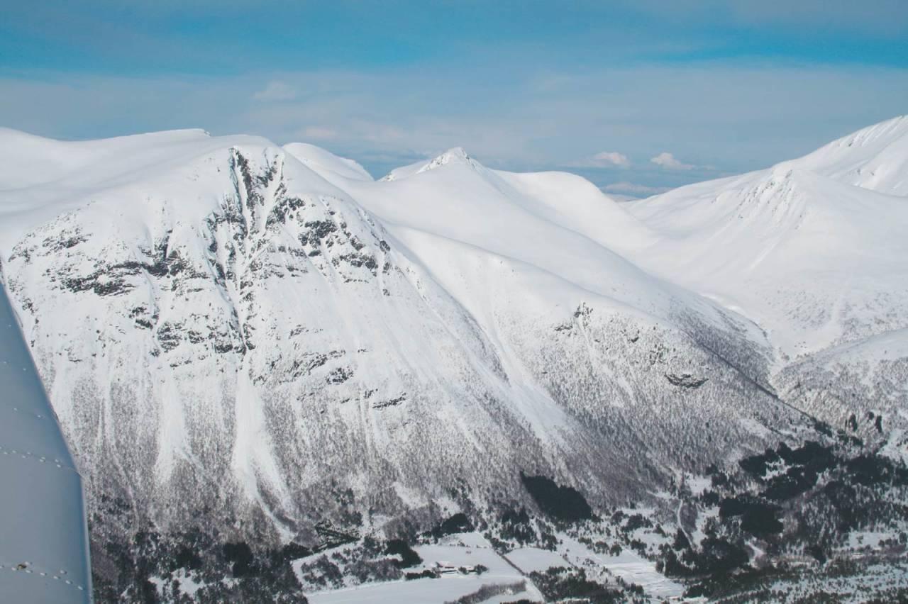 Snortungen 1198 moh fra Toppturer i Romsdalen