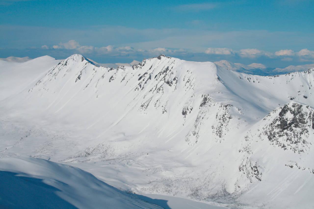 Svartvasstinden 1259 moh fra Toppturer i Romsdalen