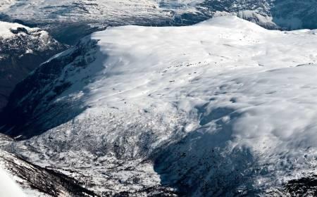 Fivlenosi sett fra nordvest. Foto: Bjørnar Bjørhusdal. / Trygge toppturer.