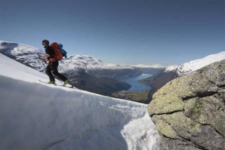 Topptur Skåla Stryn Nordfjord Loen