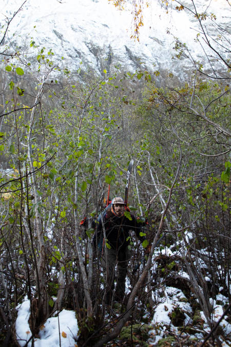 Kos i skogen med Christian Björk.