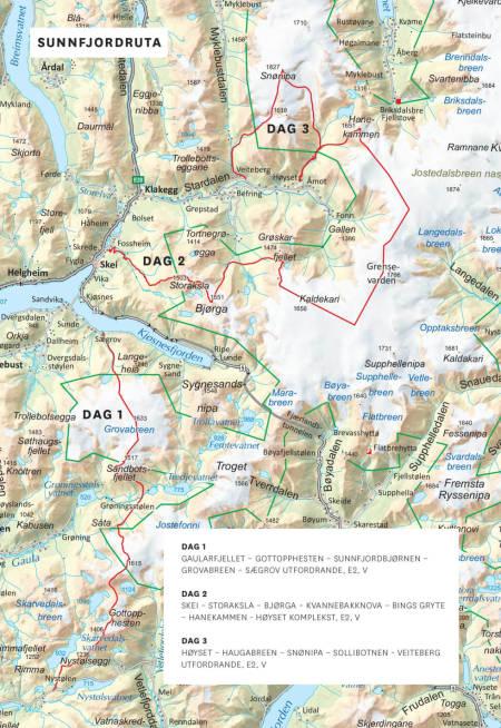 Sunnfjord Viksdalen Sunnfjordruta