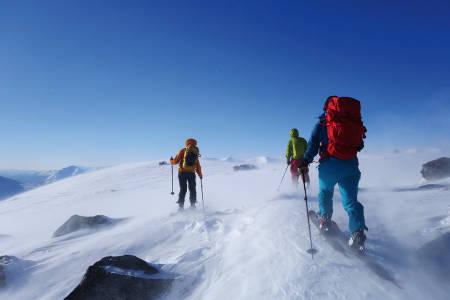 Topptur på ski Jølster
