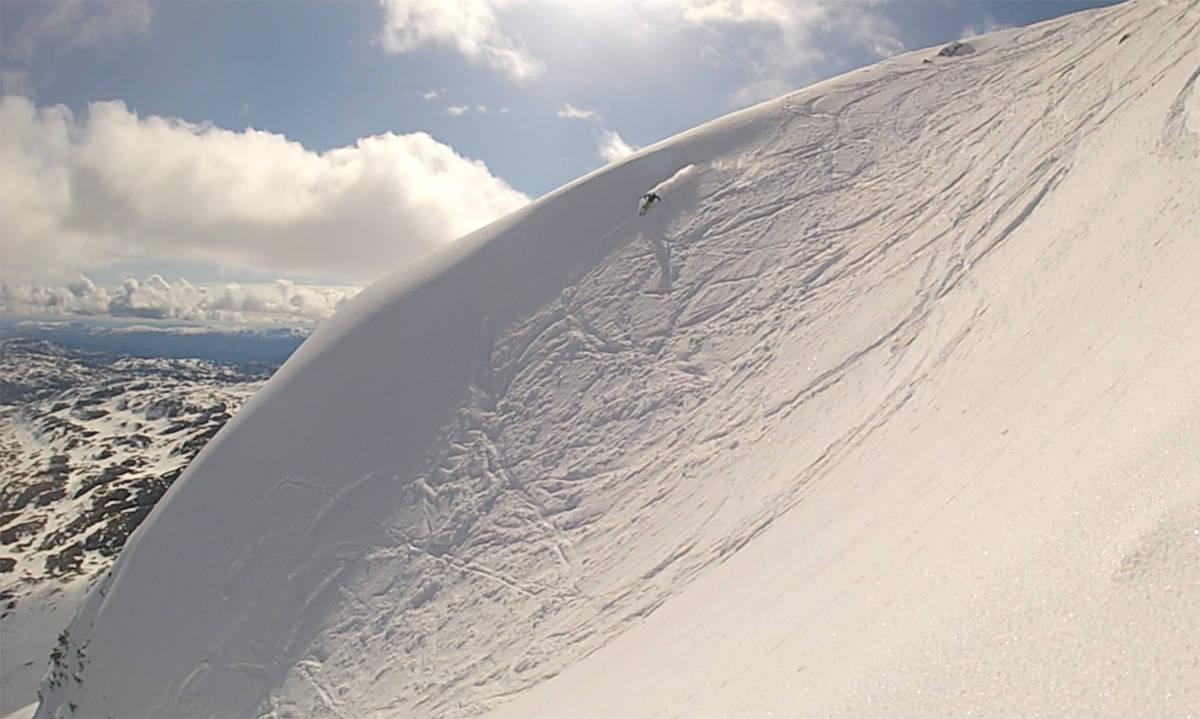 Gaustatoppen topptur randonee gausta ski snowboard alpin fri flyt guide