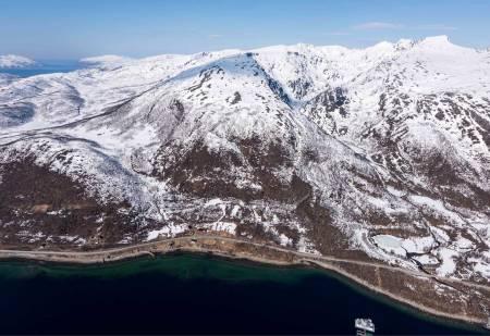 Gammelgårdsfjellet sett fra sør. Foto: Jan R. Olsen. / Trygge toppturer.