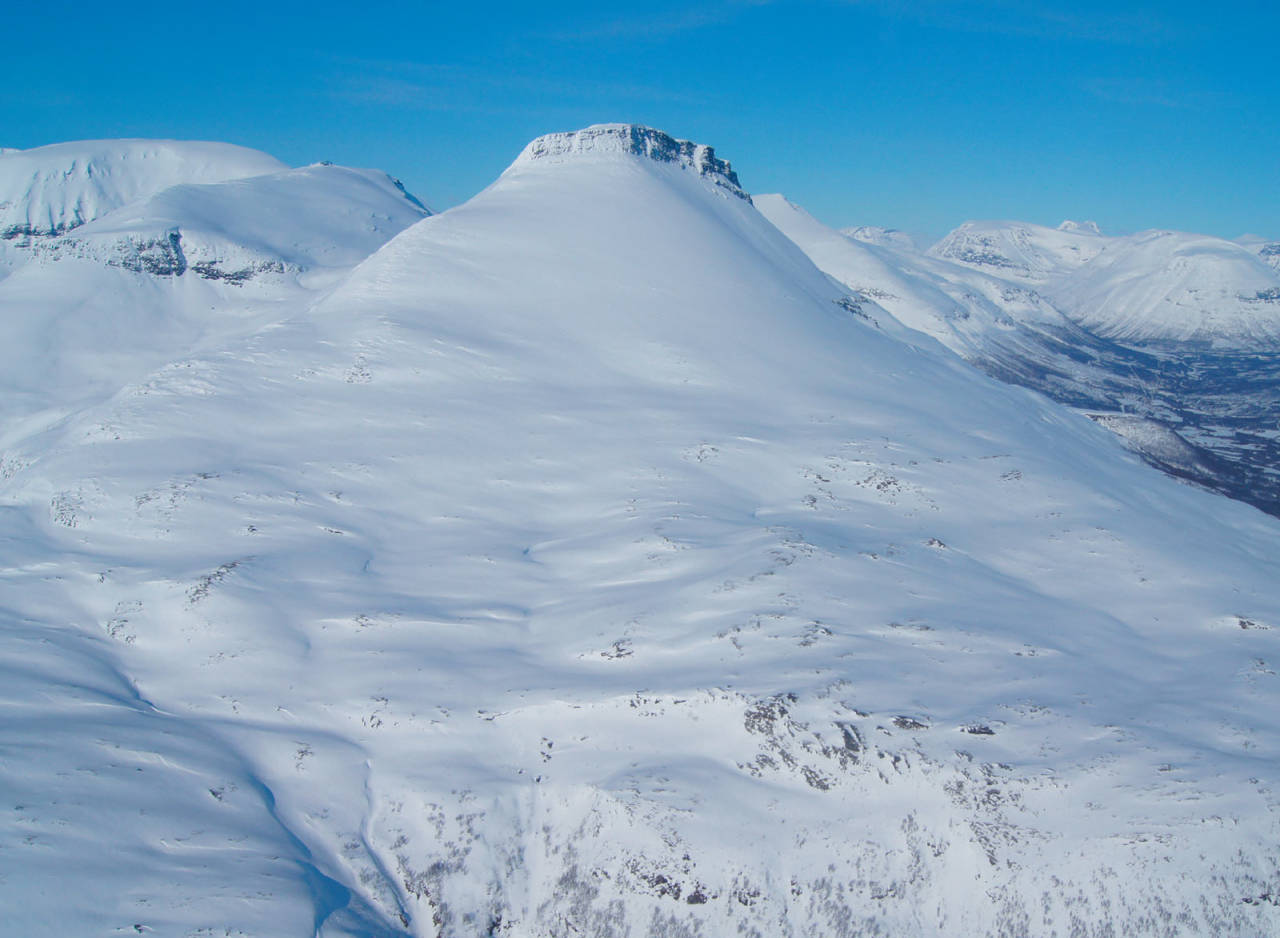 Foto: Tom Guneriussen. /  Toppturer i Troms.