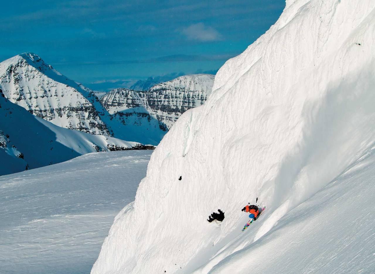 Foto: Mikko Lampinen. / Toppturer i Troms.