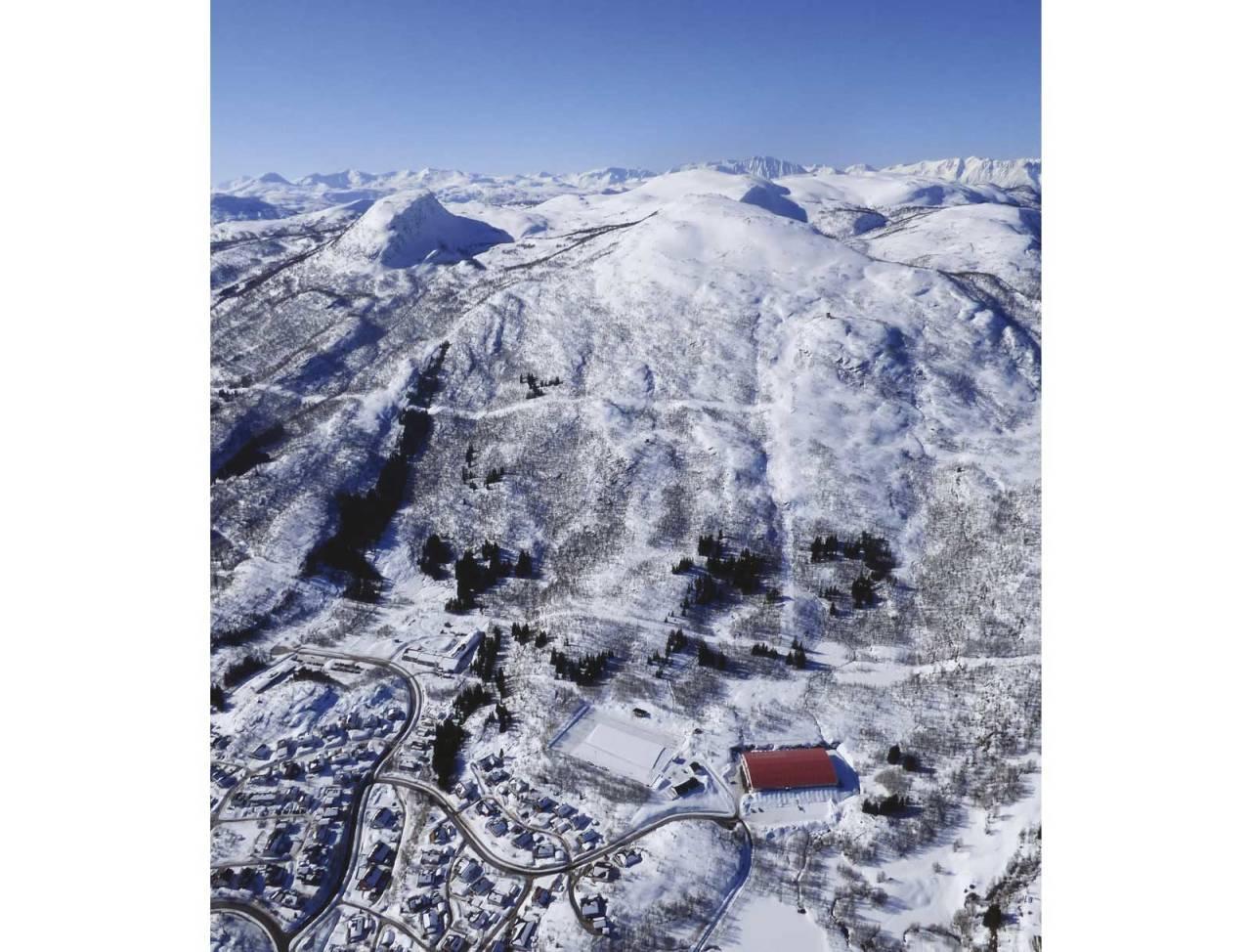 Heia 526 moh topptur i Harstad