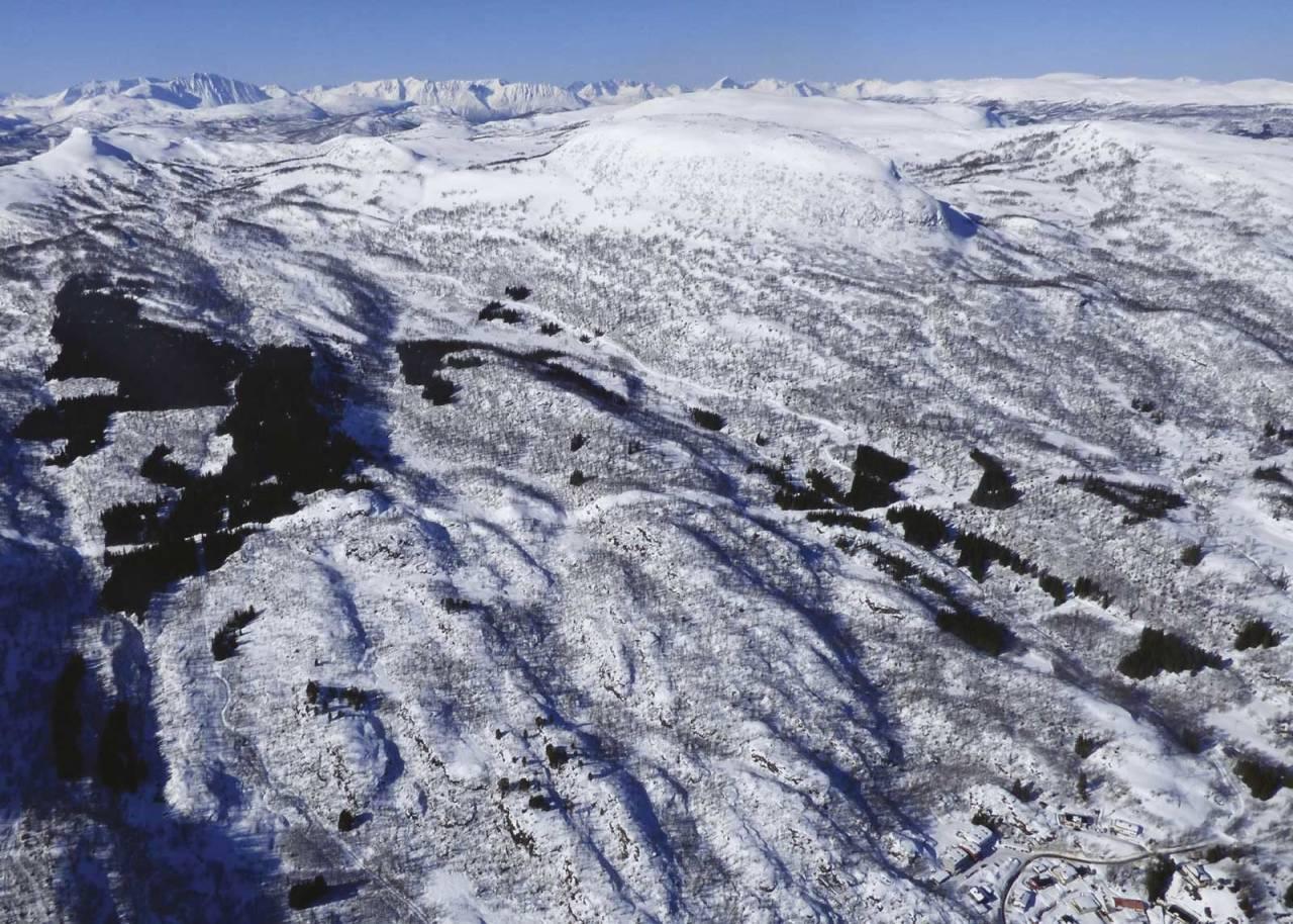 Hinnstein 560 moh. Topptur rundt Harstad